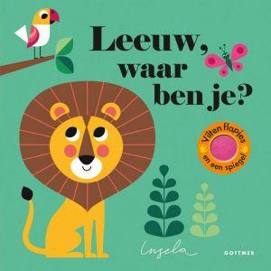 Prentenboek Leeuw, waar ben je? (2+)