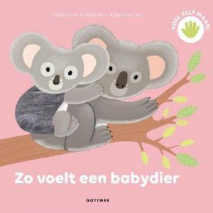 Voelboekje Zo voelt een babydier
