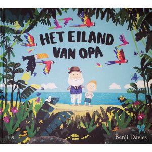 Prentenboek Het eiland van opa (2+)