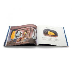 Prentenboek De kleine walvis in de winter