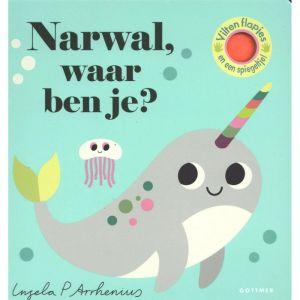 Prentenboek Narwal, waar ben je? (2+)