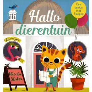 Voelboekje Hallo dierentuin (1+)