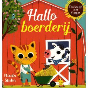 Voelboekje Hallo boerderij (1+)