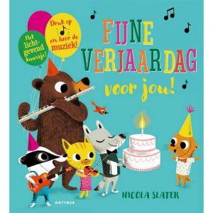 Geluidenboek Fijne verjaardag voor jou (2+)