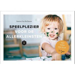 Boek Speelplezier voor de allerkleinsten 2-3 jaar