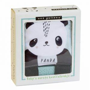 Knuffelboekje Panda Wee Gallery