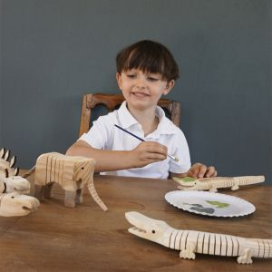Knutsel dinosaurus incl. verf Les petits by Egmont Toys