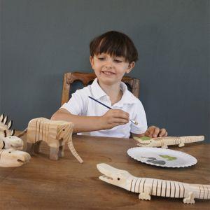 Knutsel krokodil incl. verf Les petits by Egmont Toys