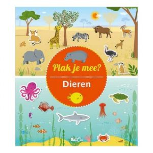 Stickerboek Plak je mee? Dieren