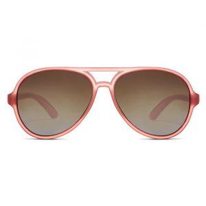 Kinderzonnebril Aviator Golds rosé (3-6j) Hipsterkid