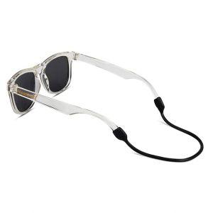 Kinderzonnebril Wayfarer Golds transparant (3-6j) Hipsterkid