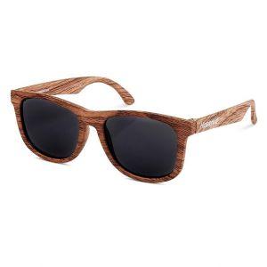 Baby zonnebril Wayfarer Golds hout (0-2j) Hipsterkid