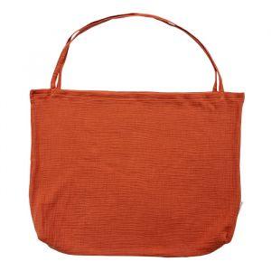 Mom Bag linnen burned orange Studio Noos