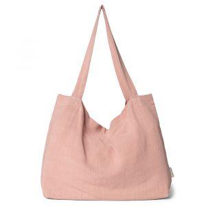 Mom Bag linnen Pink Cloud Studio Noos