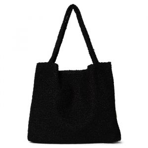 Mom Bag bouclé black Studio Noos