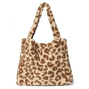 Mom Bag leopard ecru teddy Studio Noos