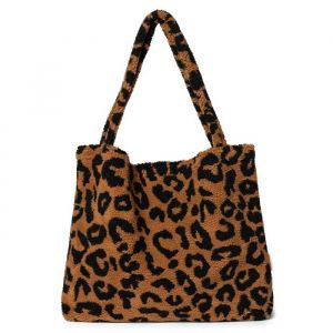 Mom Bag leopard brown teddy Studio Noos