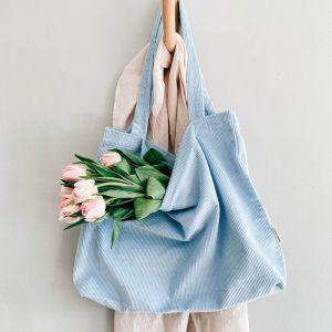 Mom Bag rib baby blue Studio Noos
