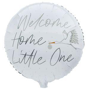 Folieballon Welcome Home Little One (55cm) Hootyballoo