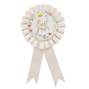 Badge Best Mum Hootyballoo