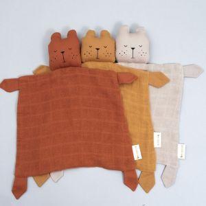Knuffeldoek Bear beige Fabelab