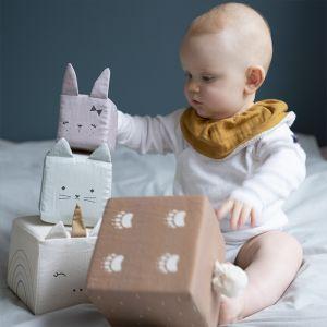 Zachte speelblokken Animals Fabelab