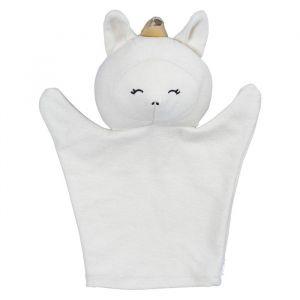 Handpop unicorn wit Fabelab