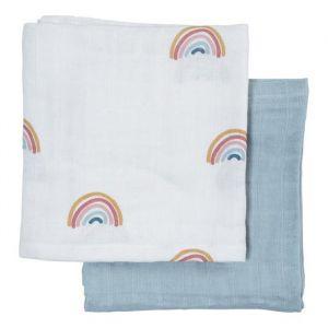 Hydrofiele doeken Rainbow (2st) Fabelab