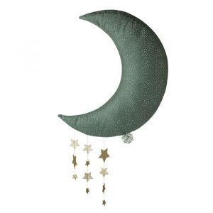 Maan met sterren grijs (45cm) Picca LouLou