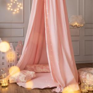 Speelkleed velvet roze Wigiwama