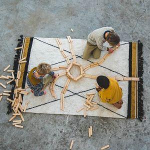 Vloerkleed Ethnic Ocher (120x170cm) Tapis Petit