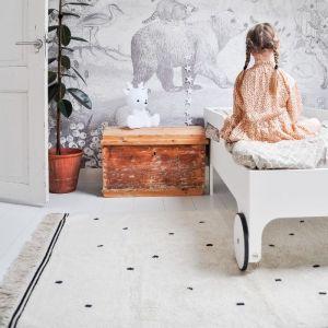 Vloerkleed Emily Dot cream (170x120cm) Tapis Petit
