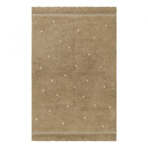 Vloerkleed Emily Dot warm beige (170x120cm) Tapis Petit