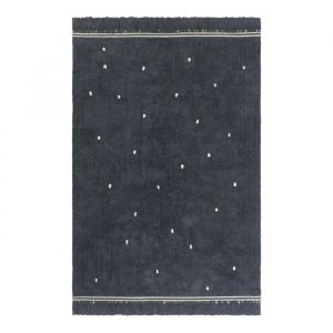 Vloerkleed Emily Dot antracite (170x120cm) Tapis Petit