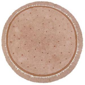 Vloerkleed Juul Dot pink (130cm) Tapis Petit