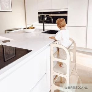 Learning Tower Step Up naturel Ette Tete