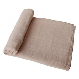 Hydrofiele doek XL Pale Taupe Mushie & Co