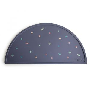 Siliconen placemat Planets Mushie & Co