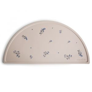 Siliconen placemat Lilac Flowers Mushie & Co