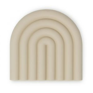 Siliconen bijtspeeltje Rainbow shifting sand Mushie & Co