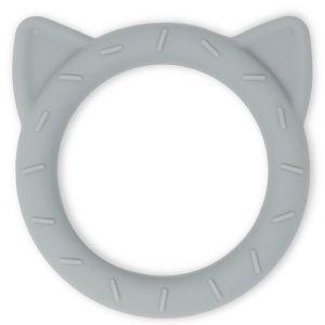 Siliconen bijtspeeltje Cat stone Mushie & Co