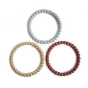 Siliconen bijtringen Bracelet mellow (3st) Mushie