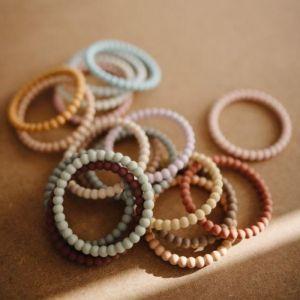 Siliconen bijtringen Bracelet sage (3st) Mushie