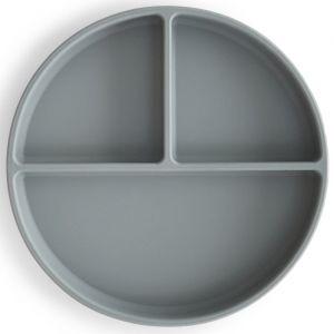 Siliconen bord Stone Mushie & Co
