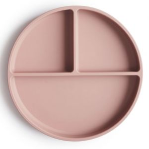 Siliconen bord Blush Mushie & Co