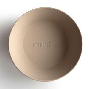 Kommen rond vanilla (2st) Mushie