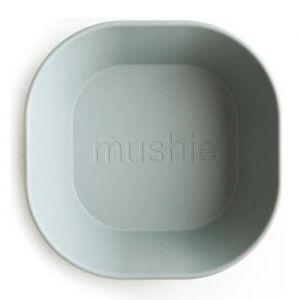 Kommen vierkant sage (2st) Mushie