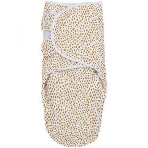 Inbakerdoek SwaddleMeyco Cheetah honey Gold (0-3m) Meyco