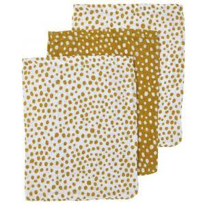 Hydrofiele washandjes Cheetah honey gold (3st) Meyco