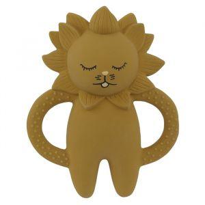 Bijtspeeltje Lion mustard Konges Slojd
